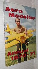 AERO MODELLER ANNUAL 1970 71 Modellismo Aeromodellismo Aviazione Moulton Model