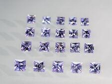 Lavender Square Princess Cut Stones SIZE CHOICE Cubic Zirconia Loose Gemstones