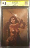 RED SONJA 20 CGC SS 9.8 LUCIO PARRILLO NYCC VIRGIN VARIANT CONAN SHE DEVIL SWORD