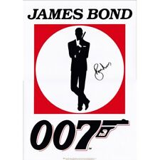 Roger Moore james bond 007 FRIDGE MAGNETS SET OF 2   70MM X 40MM xmas gift