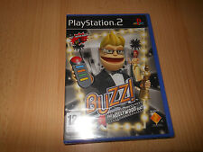 PS2 Buzz The Hollywood Quiz Nuovo Sigillato Pal