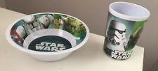 Star Wars 2 Piece Dinner Breakfast Set - Bowl & Mug Set Damaged Item!!!