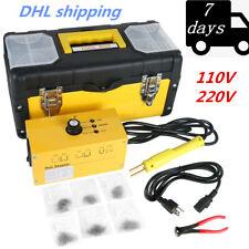 Hot Stapler Plastic Welding Machine Auto Bumper Body Repair Welder + 700 Staples