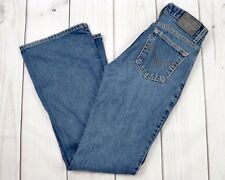 LEVIS SILVER TAB Hipster Flare Women Blue Denim Jeans Size 26 X 32