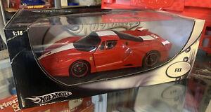 2008 Mattel FERRARI FXX SUPER CAR HOT WHEELS 1:18 SCALE DIECAST Sealed New