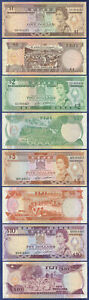FIJI $1 $2 $5 and $10 DOLLAR NOTES VERY FINE TO AU