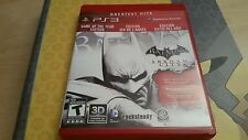 Bartman Arkham City Game of the year REGION FREE complete PS3 Playstation 3