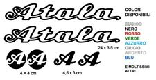 KIT Adesivi Atala sticker decals Bicicletta Bike Vintage Alta Qualità Logo