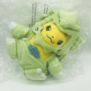 "9"" Tyranitar Costume Pikachu Poke Plush Maniac Official Pokemon Center Doll NEW"