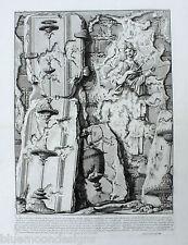 Piranesi Roma 1756 le antichit romanzi muro PIRAMID Cestio Pyramid of CESTIUS