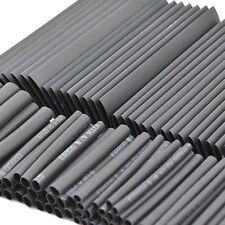 127 PIEZAS Negro Tubo Termoretráctil Cable Kit Eléctrico Surtido Encamisado tubo
