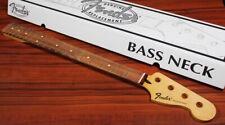 Estándar series Precision Bass ® Neck, 20 Medium jumbo frets-Maple
