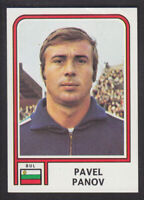 Panini - Argentina 78 World Cup - # 340 Pavel Panov - Bulgaria