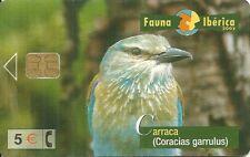 RARE / CARTE TELEPHONIQUE - OISEAU BIRD : CARRACA / PHONECARD TELEPHONE CARD