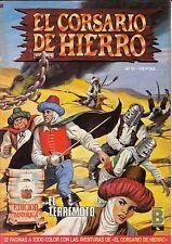 EL CORSARIO DE HIERRO (ed. histórica) nº: 17 (de 58 d colección completa. ed. B)