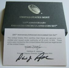2017-S RARE ENHANCED UNC COIN SET~Hand Signed by U.S. Mint Director David Ryder~