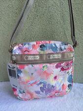 New LeSportsac Waterlily Garden Shellie Floral Crossbody Shoulder Bag
