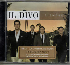 IL DIVO – SIEMPRE - CD (2006) 11 TRACKS: KNIGHTS IN WHITE SATIN, WITHOUT YOU ETC