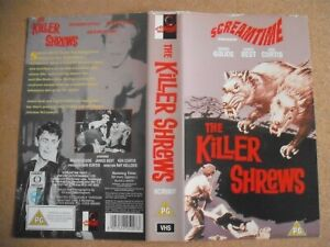 8 Horror Filme Sammlung -Englisch-VHS Video