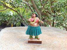 "Dashboard Hula Girl Sweet Wahine 4"" Hawaii Bobblehead Doll Surf Dance #40667"