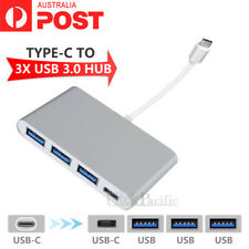 "4in1 Multiport Type C Hub USB 3.0 USB-C Charging Adapter For MacBook Pro 13"" 15"""