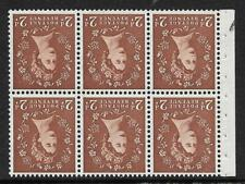 SB79a Wilding booklet wmk Crowns Inverted UNMOUNTED MNT/MNH