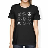 Skulls Womens Black Shirt
