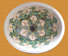 #112 SMALL BATHROOM SINK 16x11.5 MEXICAN CERAMIC HAND PAINT DROP IN UNDERMOUNT