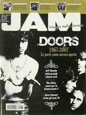 JAM 133 magazine THE DOORS JEFF TWEEDY PLATINUM WEIRD DECEMBERISTS THE SHINS