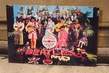 "The Beatles Sgt. Peppers Lonely Hearts Club Band Tabletop Standee 10 1/2"" Long"