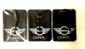 Mini Cooper S JWC S One S Paceman S Clubman S Car Air Freshener Deal 3 for £9.99