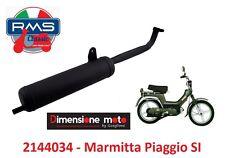 """2144034 - Marmitta """"RMS"""" Tipo Originale per Piaggio SI 50 FL2 dal 1991 al 1997"""