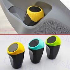 Car Auto Accessories Trash Can Rubbish Garbage Dust Bin Case Cup Holder Office