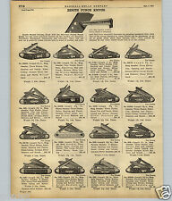 1922 PAPER AD 7 PG Zenith Pocket Knife Knives Marshall Wells Store Display Case