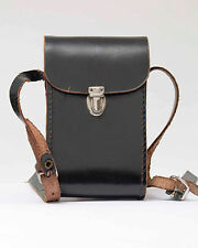 Kodak  Bereitschaftstasche Original  Leder Kameratasche Schwarz  Nr.11