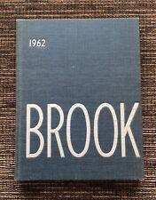 "RARE VINTAGE 1962 Cranbrook School ""The Brook"" Yearbook: Bloomfield Hills, MI"
