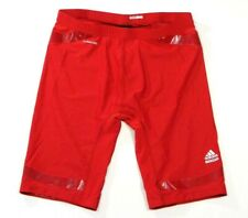 Adidas ClimaCool Powerweb TechFit Compression Shorts Red Men's 2XT Tall NWT