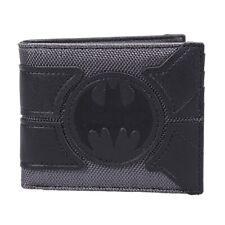 Genuine DC Comics Batman Bat Suit Design Logo Bi-Fold Wallet Boxed Gift