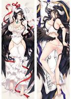Anime Overlord Waifu Albedo  150*50 CM Dakimakura Pillow Case