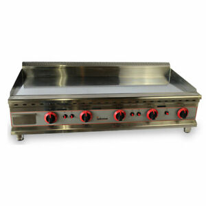 120cm Chrome Gas Griddle/LPG/NAT/Quality Catering Griddle/ New