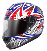 KABUTO RT-33 Motorcycle Helmet Veloce Blue/Red Size Medium *RRP $599*!