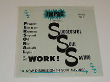 IMPAC PRESENTS SUCCESSFUL SOUL SAVING NO. 1  Lp RECORD SSS GOSPEL SEALED