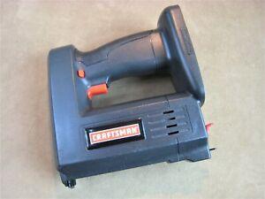 Working Craftsman 315.114010 19.2v Cordless Nailer Stapler Staple Gun Bare Tool