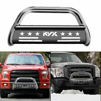 "for 04-20 Ford F150 03-14 Lincoln Navigator Pickup Truck 3"" Front Bumper Silver"
