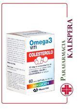 OMEGA 3 COLESTEROLO MARCO VITI 60 PERLE CON OMEGA 3 E RISO ROSSO MONOCOLINA PROM