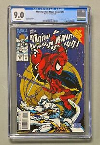 MARC SPECTOR Moon Knight #57 Marvel 1993 CGC 9.0 #301 Spider-Man Cover Homage