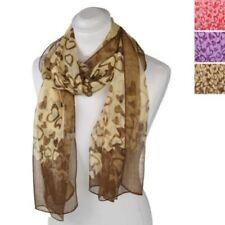 Bufandas y pañuelos de mujer de chifón