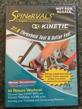 SpineRvals Kinetic by Kurt Indoor Cycling 27.0 Threshold Test & Suffer Fest Dvd