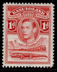 BASUTOLAND GVI SG19, 1d scarlet, M MINT.