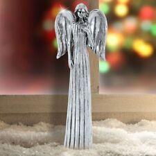 Grand ange élégant couloir argentin décoration hiver Noël avent figure figurine
